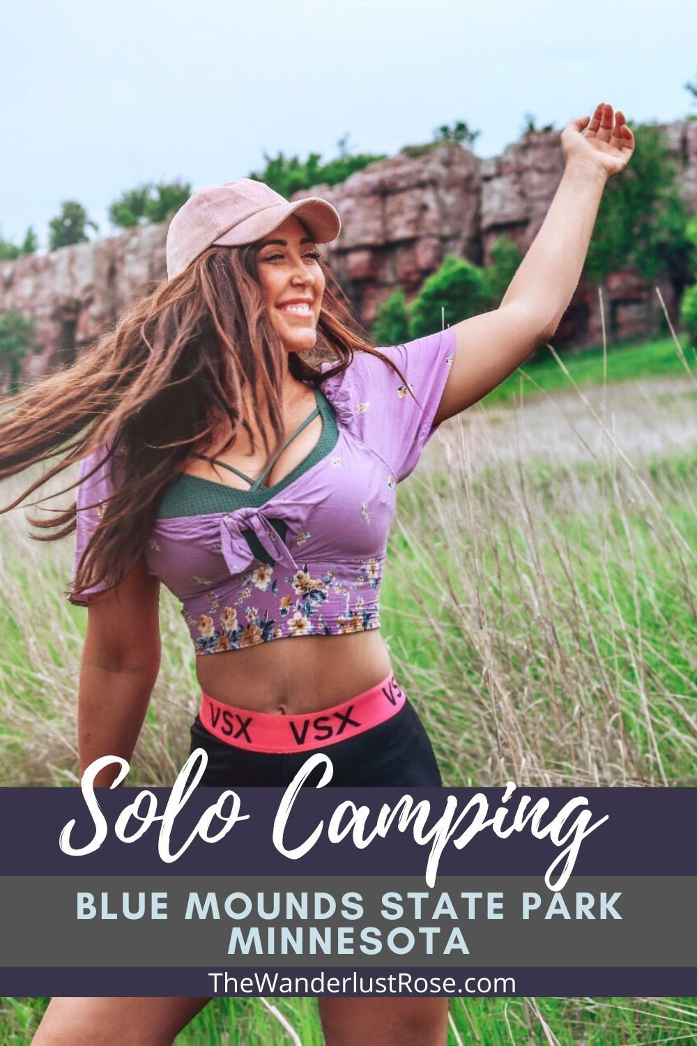 Blue mounds state park minnesota camping solo in 2020