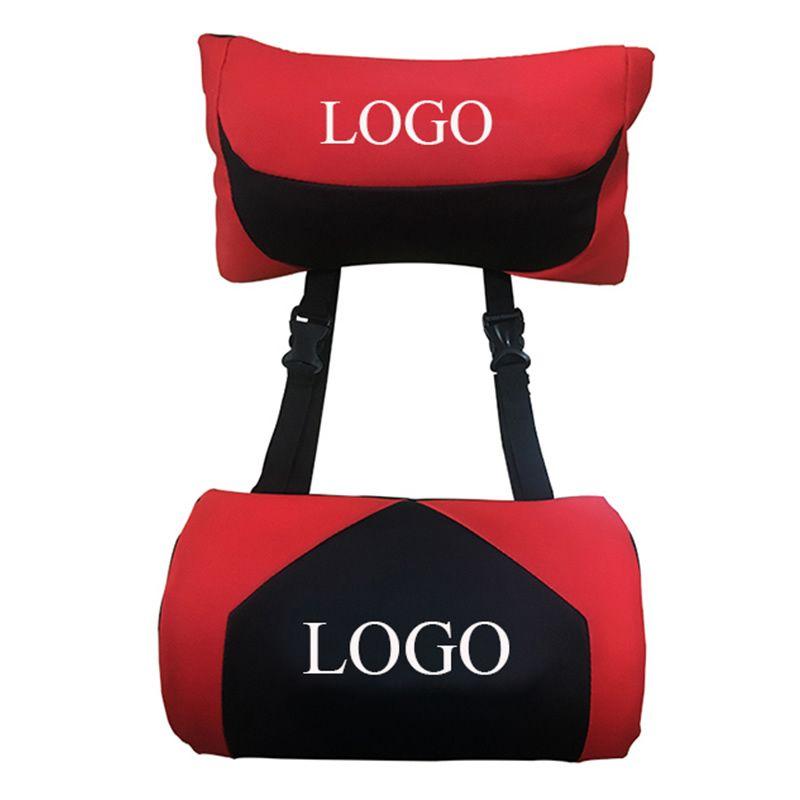 headrest and waist pillow gaming chair