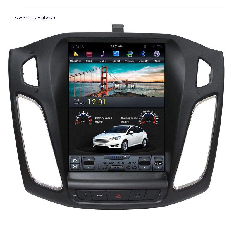 Tesla Style Vertical Screen Android Sat Nav Autoradio Car Multimedia Stereo Gps Navigation Dvd Radio Audio Head Unit Ford Focus 3 2013 2014 2015 2016 2 Autoradio