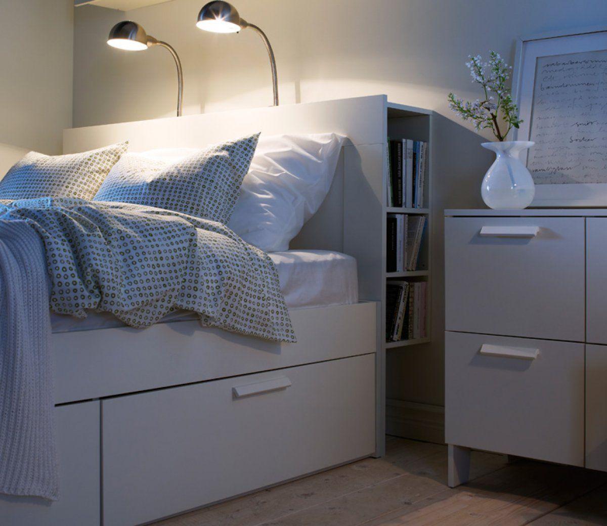 """Bett """"Brimnes"""" bei Ikea   Wohnen, Schöner wohnen, Wohn ..."""