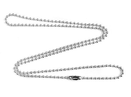 2mm Fine Sterling Silver Ball Chain Necklace - 24 inches Rio. $34.00. lifetime warranty, satisfaction guaranteed. unisex .925 sterling silver ball chain. comes gift boxed, ships immediately