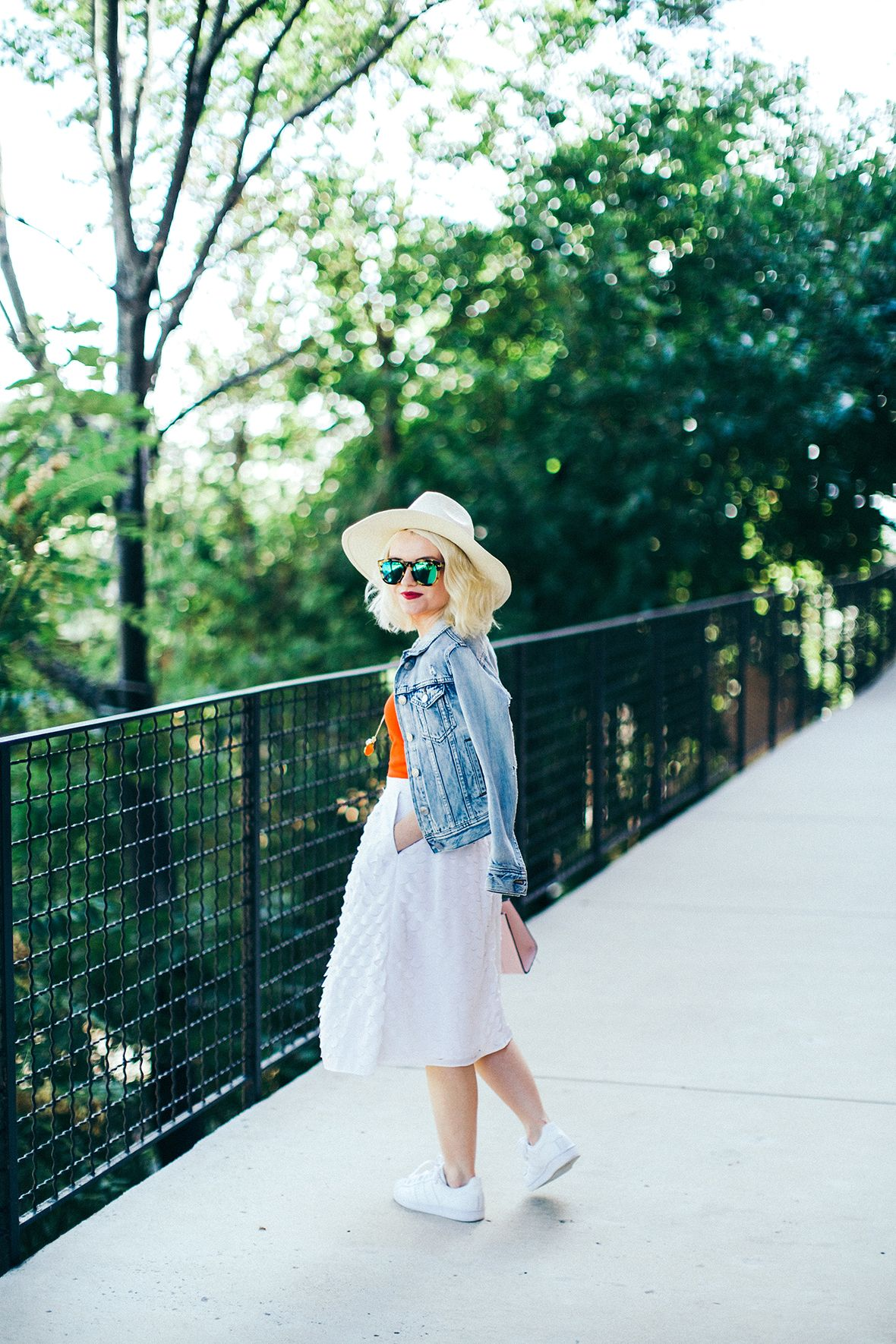 Poor Little It Girl - Sneakers and Skirts - @Poor Little It Girl