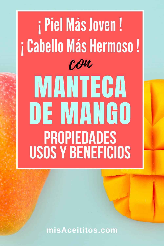 propiedades mango para la piel