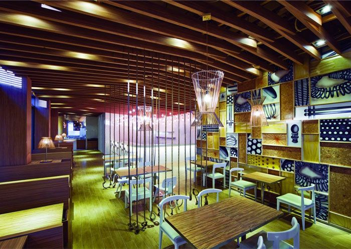 japanese restaurant interior decor unique casual dining experience