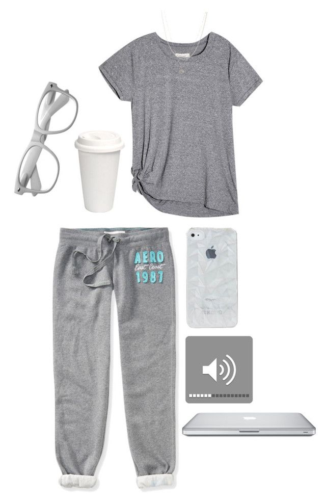 """Lazy day"" by slotharms ❤ liked on Polyvore featuring Aéropostale and ASOS"
