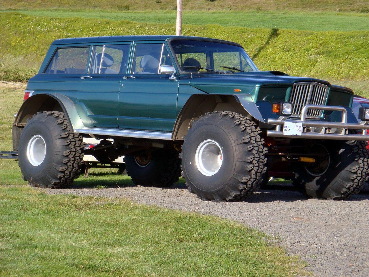 Exceedingly Cool Icelandic Wagoneer International Full