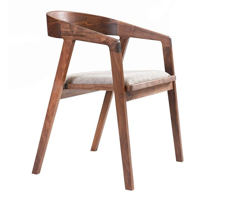 New Design European Style Wooden Cafe Chair With Cushion Dining Room Chairs Wooden Cafe Cafe Chairs Chair Design Wooden