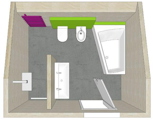 badplanung mit dachschräge badarchitektur gut geplant