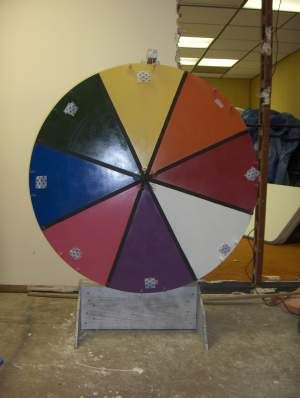 Spinning Wheel Carnival Game I Have One Of These School Carnival Games Carnival Themed Party Fall Carnival