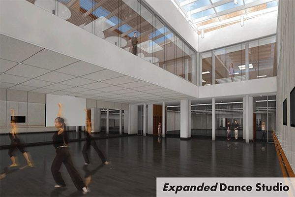 Performing Arts Center Interior Dance