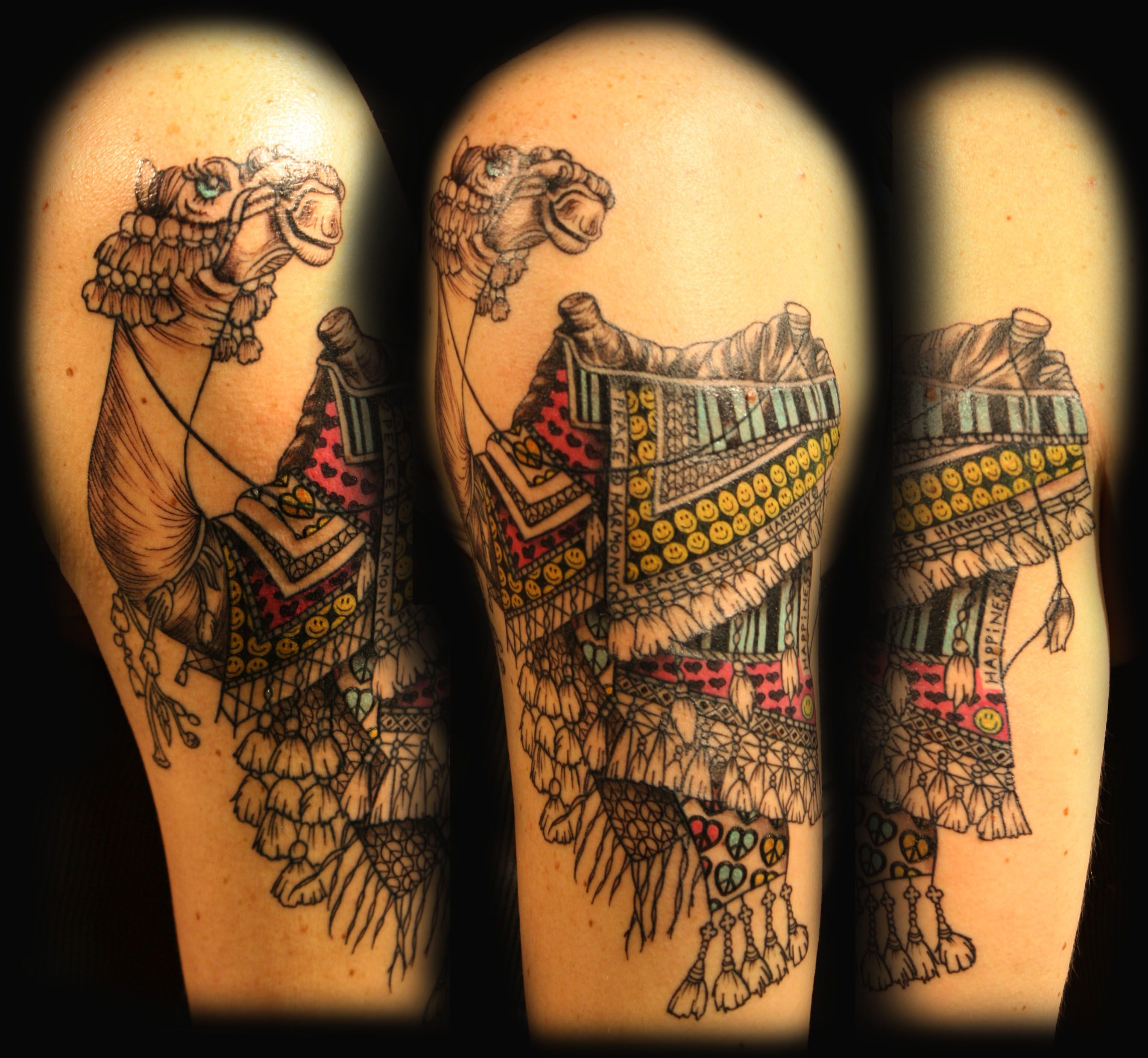 The 25 best camel tattoo ideas on pinterest picasso for Best tattoo artists in nyc 2017
