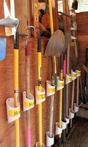 rake hook for pegboard - Google Search