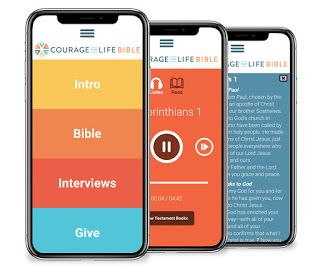 Review Courage for Life Bible App (Free) Bible apps