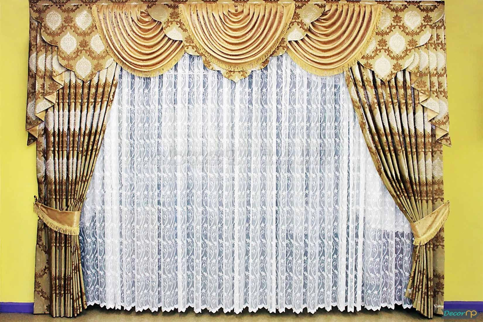 10 Most Popular Stylish Living Room Curtains