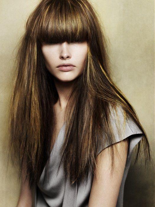 pictures dark hair color ideas 2013 hair highlights for dark hair - Hair Color Highlights Styles