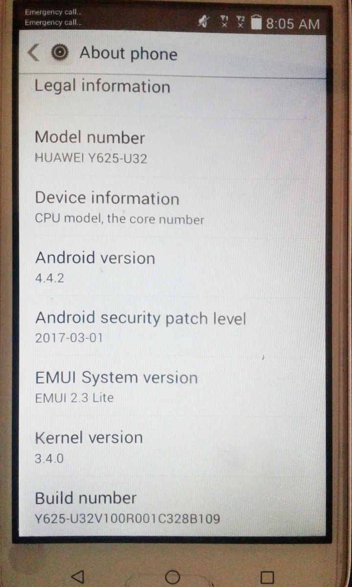 Huawei Y625-u32 Firmware B109 (Middle East - Africa)   Ministry Of