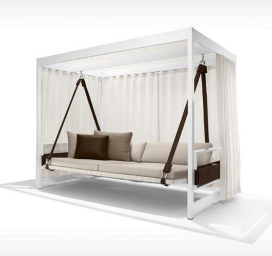 moderne hollywoodschaukel mit viel platz. Black Bedroom Furniture Sets. Home Design Ideas