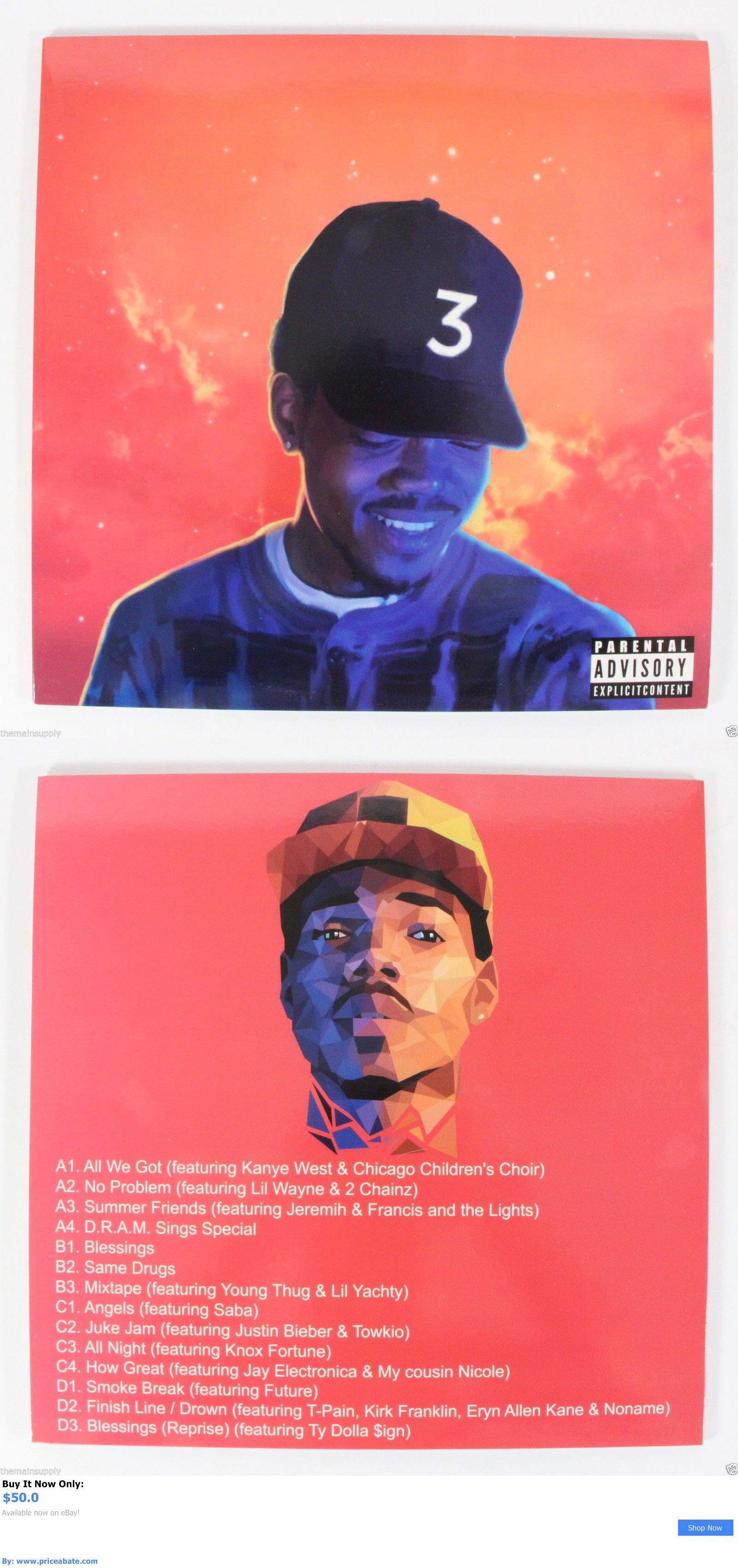 The coloring book vinyl - Music Albums Chance The Rapper Coloring Book 2lp Vinyl 12 Record 2016