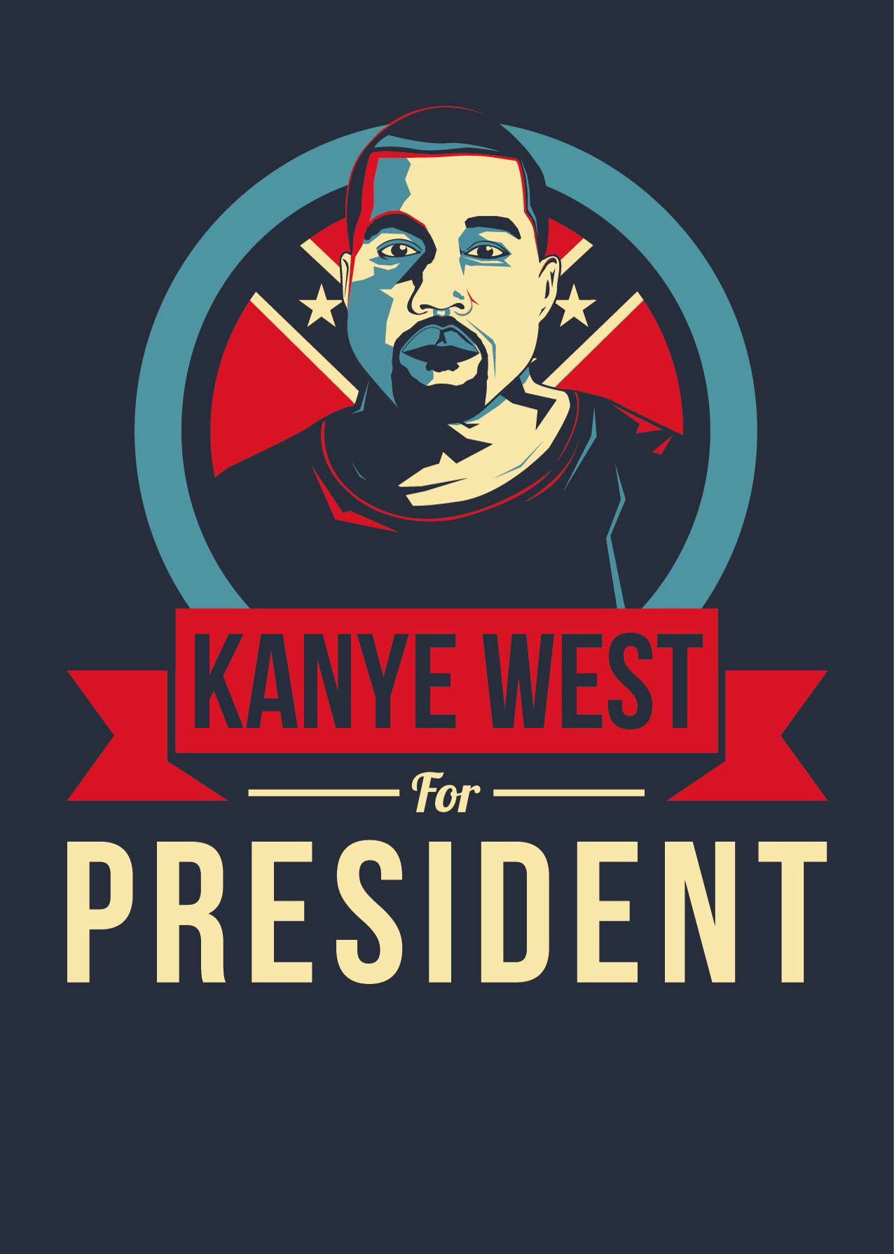 Kanye west iphone wallpaper tumblr - Kanye West For President Poster