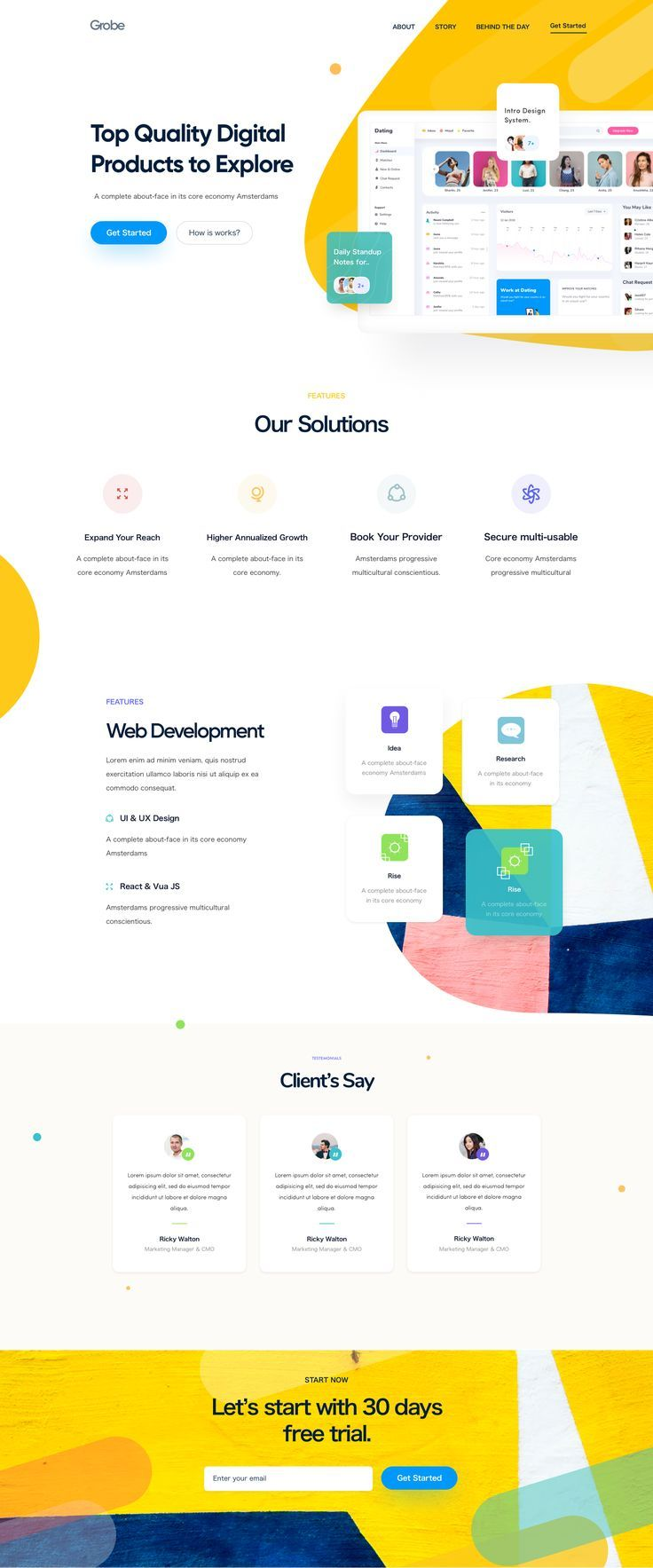 25 Best responsive html template for June 2020