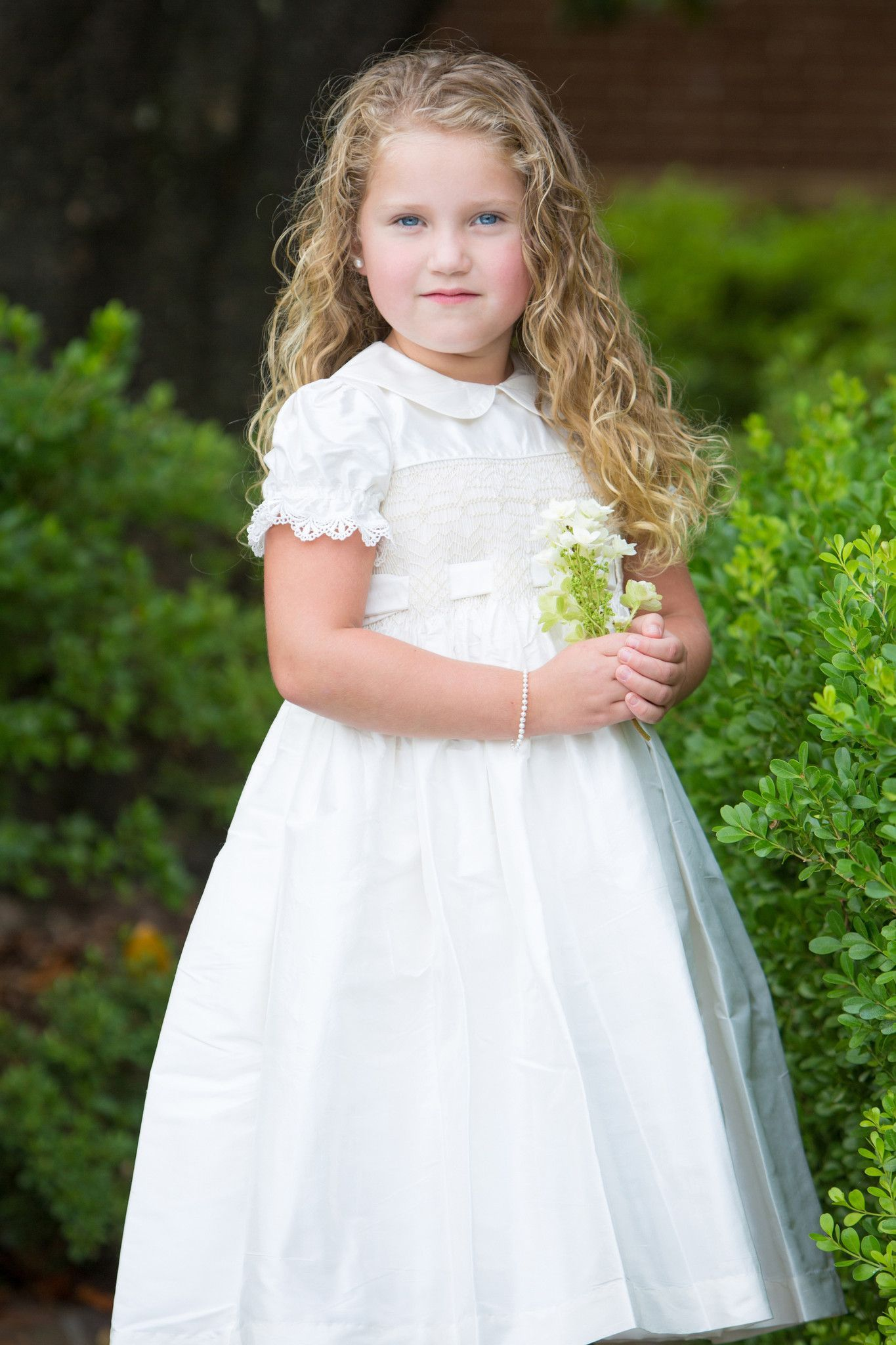 5eafb64b16a Smocked Heirloom Dress by Strasburg Children. Perfect for holidays