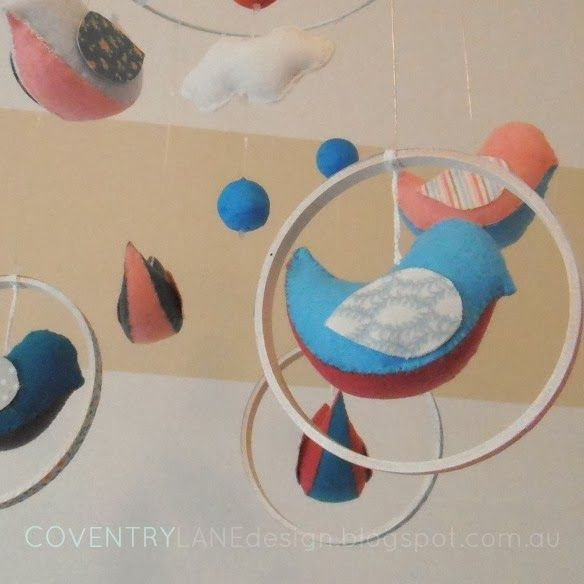 Coventry Lane Design: DIY Swinging Bird Mobile