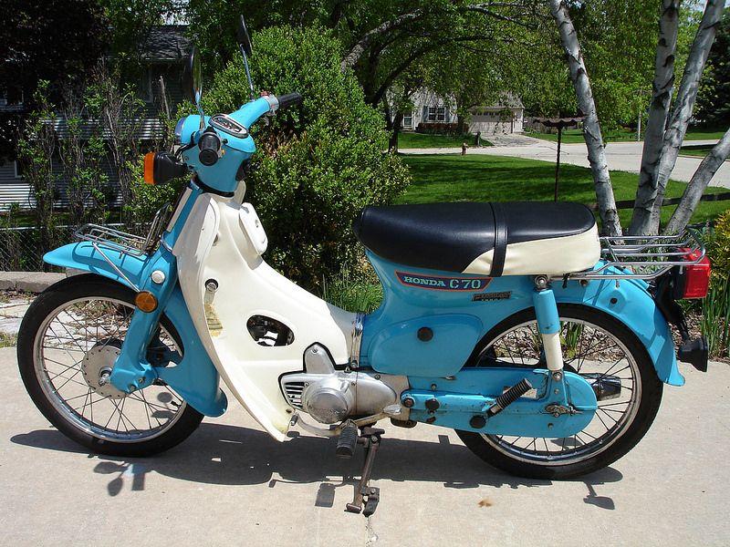 honda c70 classic motorcycle amazing custom cub scooters. Black Bedroom Furniture Sets. Home Design Ideas