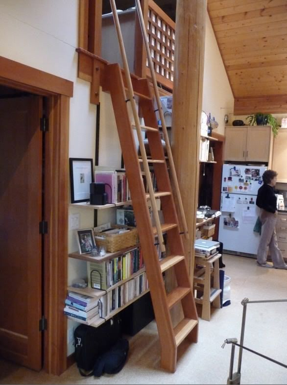 image result  stair ladder requirement kleines haus