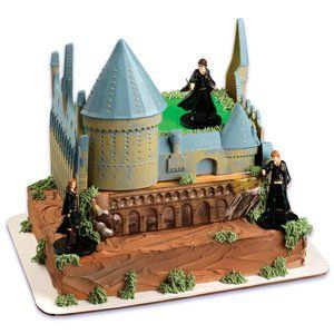 Harry Potter Castle Cake Decorating Kit 1534 Fun Pinterest