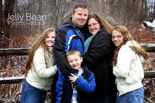 Family Portrait/ Coats/ Winter- Jelly Bean Photography