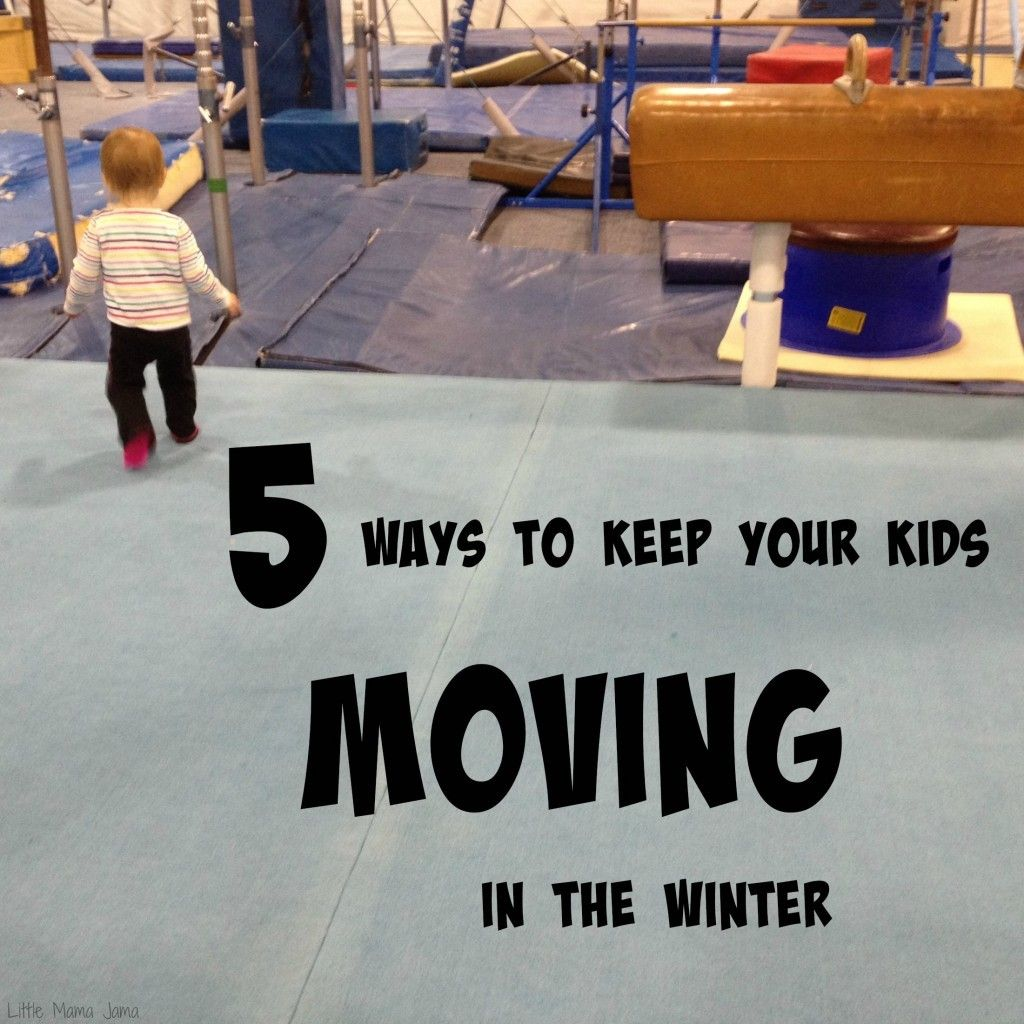 Indoor activity ideas for kids! Here are 5 Ways to Keep Your Kids Moving in the Winter (or on rainy days!)! #ad