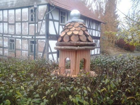 vogelhaus mit futtersilo anleitung zum selber bauen garten v gel haus und vogelfutterhaus. Black Bedroom Furniture Sets. Home Design Ideas