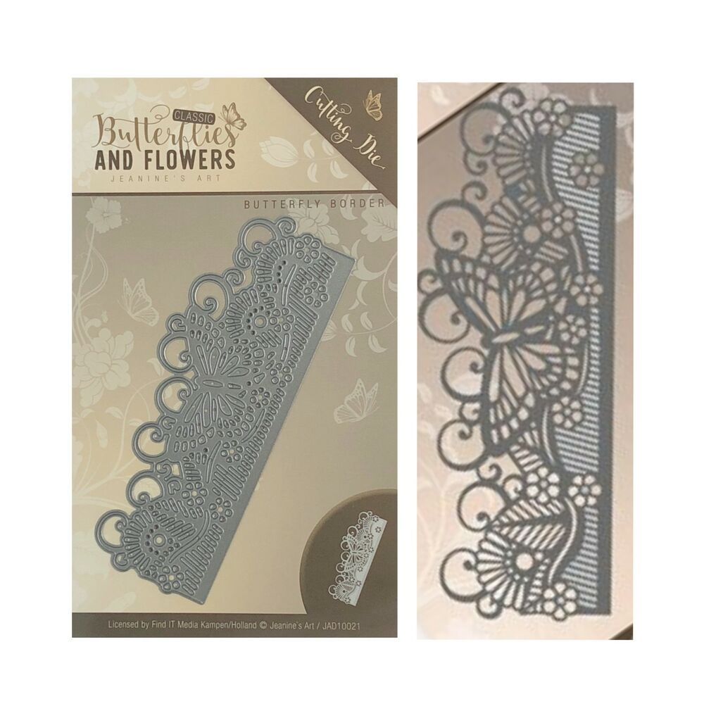 LACE BUTTERFLY Paper DIE cuts NOT a DIE 10PC