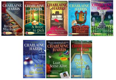 Charlaine Harris Aurora Teagarden Mysteries Books