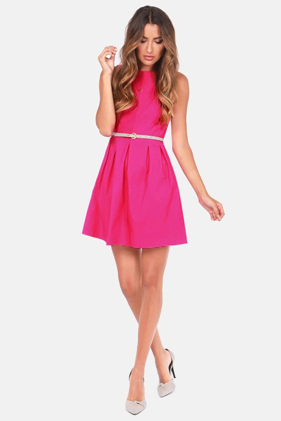 Cly L Fuchsia Pink Dress At Lulus Option For Wedding