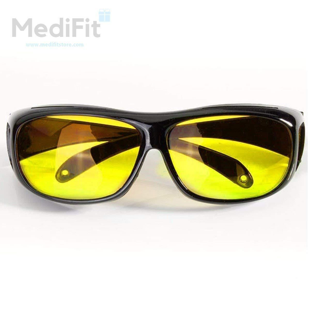 b9a32c14 Optica™ Night Vision HD Driving Glasses - MediFit | Online Purchase ...