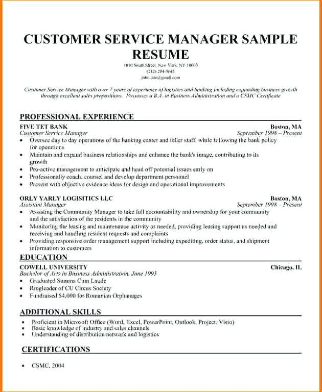 78 Beautiful Stock Of Sample Resume For Sales Operations Manager Job Resume Samples Resume Manager Resume