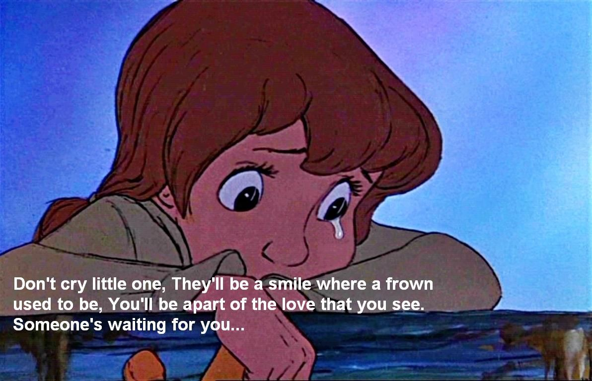 Don T Cry Little One Disney Characters And Quotes Caricaturas
