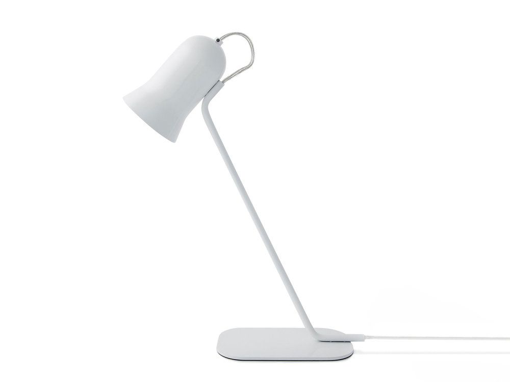 Angly Lampe A Poser Metal Blanc H43 5cm Lampe A Poser Lo
