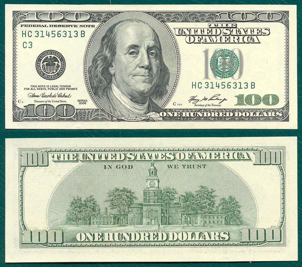 Http Coleccionescaballero Com Imagenes Venta 01 20 20billetes Extranjeros Grandes America 20del 20nort 100 Dollar Bill Money Printables Fake Money Printable