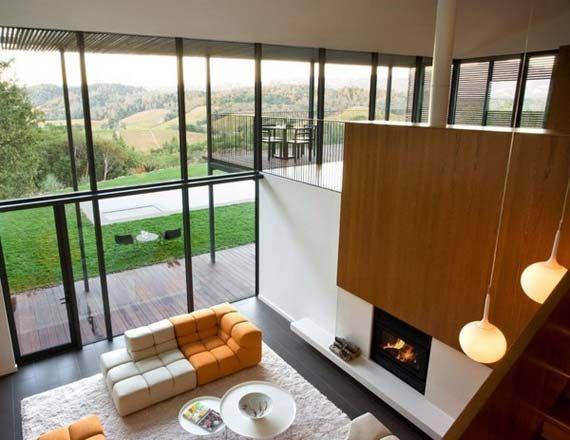 modern hillside homes - Google Search