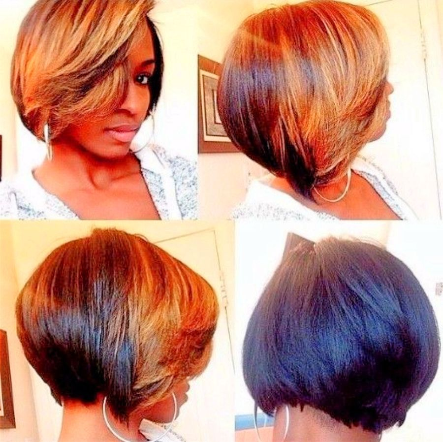 Short Hairstyles For Black Women Over 50 Ideas 2016 Ombre Hair