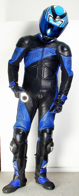 #Dainese clad #LeatherBiker