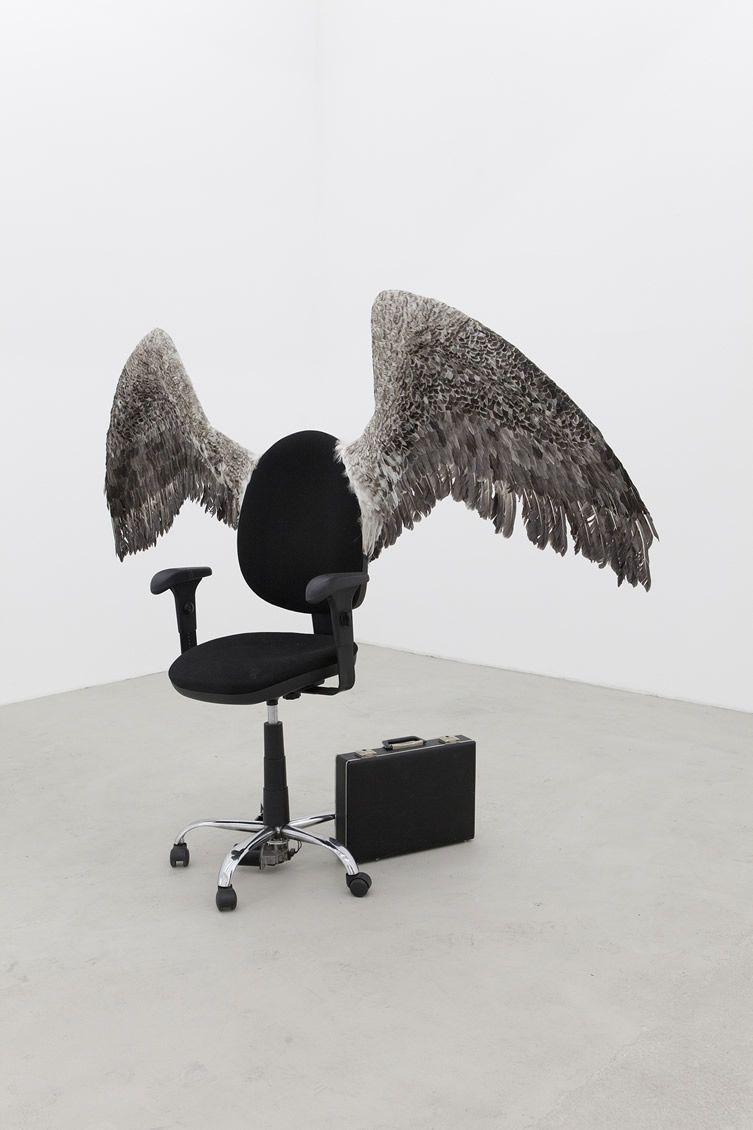 Taxidermy is just one of Czech artist Krištof Kintera's means of getting his messages across... http://www.we-heart.com/2015/03/24/kristof-kintera-kunsthal-rotterdam/