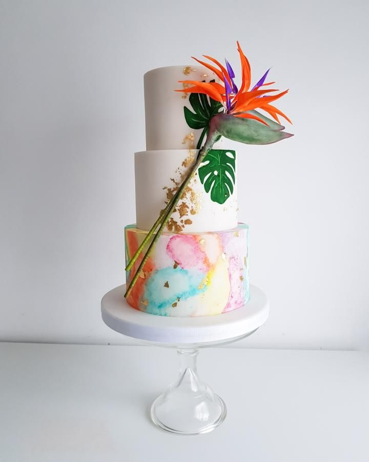 tropical wedding cake images tropical wedding cake by the snowdrop cakery http 21277