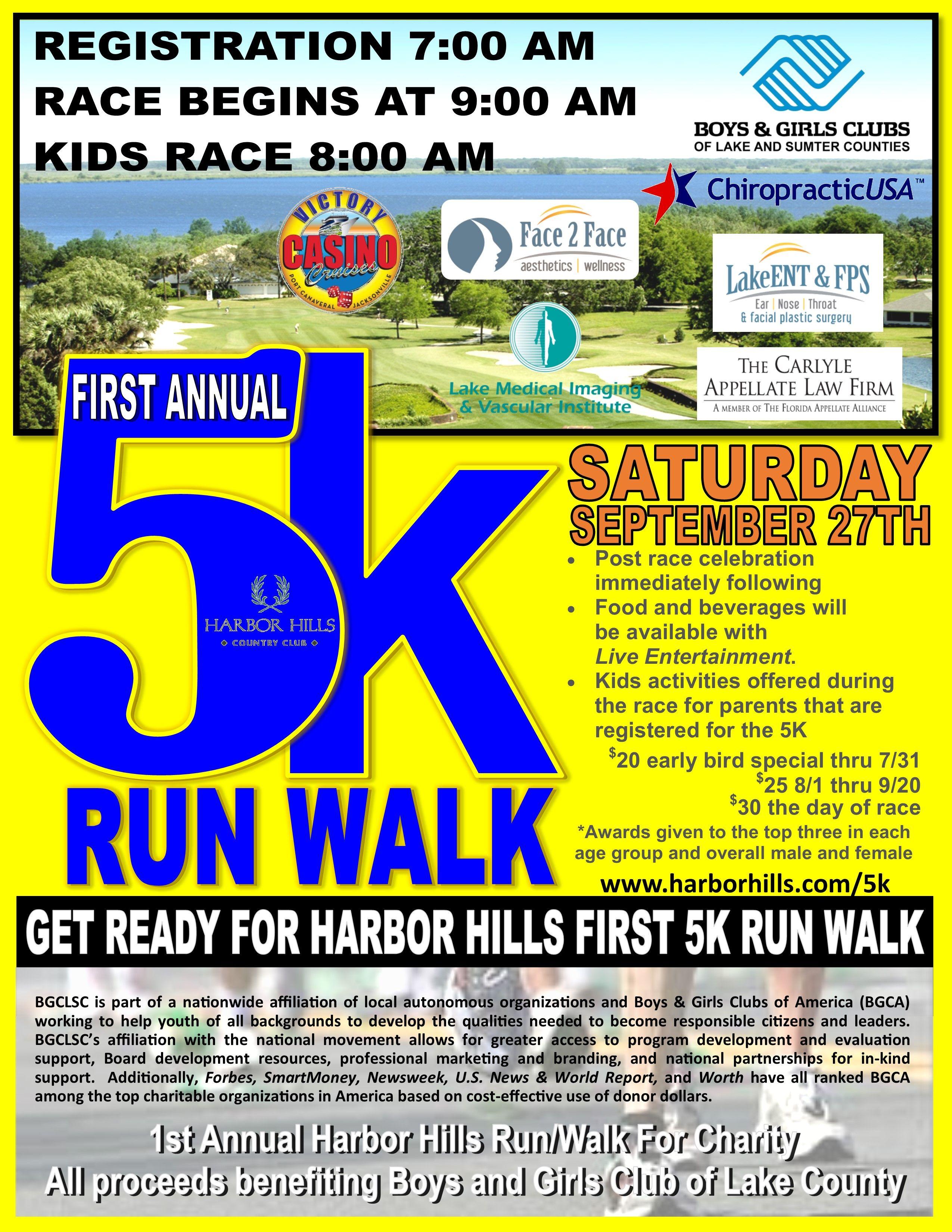 5k runwalk summerfun (With images) Kids races, Sumter