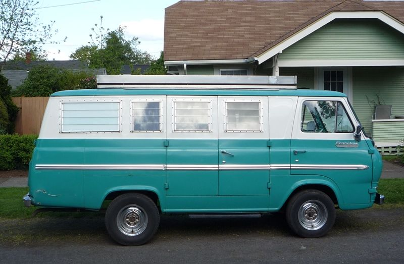 Curbside Classic 1965 Ford Econoline Supervan Camper The Truth