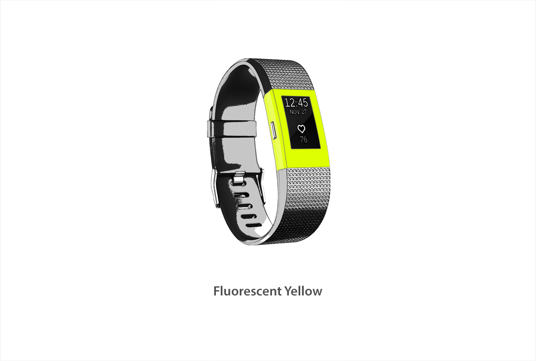 Fitbit Charge 2 Skins - Neon Series