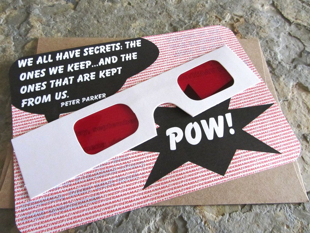 Superhero / comic surprise code invite. | Comic Wedding Ideas ...