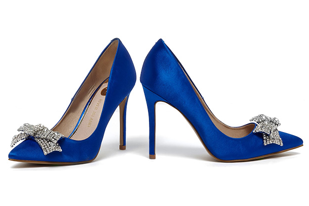 c10e56dd1df1 Let your something blue be stunning blue wedding shoes - we ve rounded up 17  beautiful blue wedding shoes.